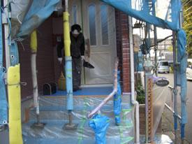 ゴミやホコリ、塗装カスの掃除
